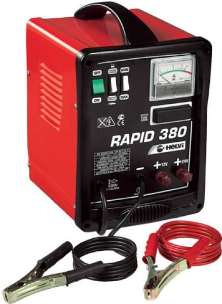kunzer rapid 380 helvi startlader batterieladeger t 12 24v. Black Bedroom Furniture Sets. Home Design Ideas