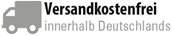 Versandkosten frei innerhalb von Deutschland