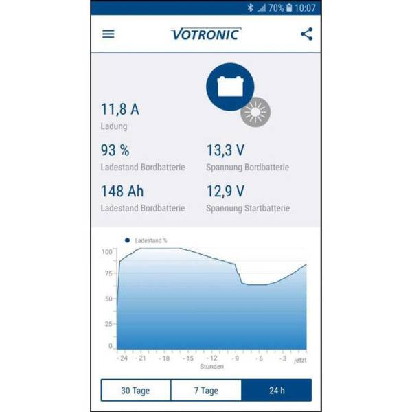 Votronic Energy Monitor App via Bluetooth-Connector S-BC - 1430