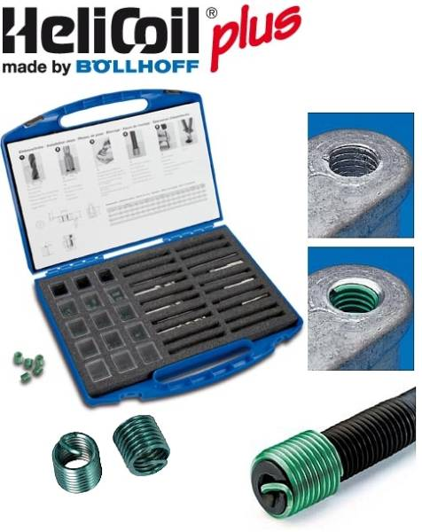 HELICOIL Repair Set UNF 1/4 to 1/2 - 198 pcs